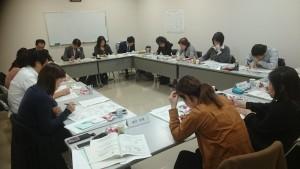 連合宮崎会議室で開催された2017九ブロ女性会議