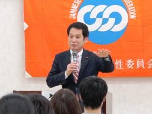 民進党・政務調査会長 佐賀県総支部連合会代表 大串博志衆議院議員