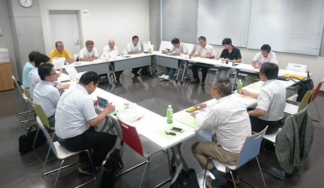 多久市で開催した第5回春闘連絡会議(第15回組織代表者・地協代表者会議終了後開催)