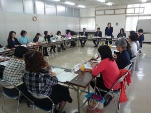 那覇市で開催された連合地方ブロック女性会議