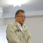 北部地協・白石事務局長の辞任に伴い、後任として着任された次村事務局長(基幹労連OB)