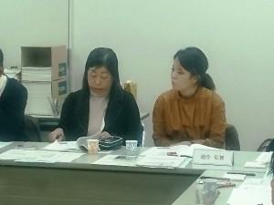 連合佐賀より出席した塚本委員長(左)と宮﨑幹事(右)